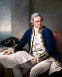 James Cook FRS RN  (7 November 1728 – 14 February 1779) was a British explorer, navigator and cartographer, ultimately rising to the rank of Captain in the Royal Navy. Cook was the first to map Newfoundland prior to making three voyages to the Pacific Ocean during which he achieved the first European contact with the eastern coastline of Australia  and the Hawaiian Islands as well as the first recorded circumnavigation of New Zealand. Cook died in Hawaii in a fight with Hawaiians during his third exploratory voyage in the Pacific in 1779.