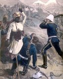 The Second Anglo-Afghan War was fought between the United Kingdom and Afghanistan from 1878 to 1880, when the nation was ruled by Sher Ali Khan of the Barakzai dynasty, the son of former Emir Dost Mohammad Khan. This was the second time British India invaded Afghanistan. The war ended in a manner after attaining all the British geopolitical objectives. Most of the British and Indian soldiers withdrew from Afghanistan. The Afghans were permitted to maintain internal sovereignty but they had to cede control of their nation's foreign relations to the British.